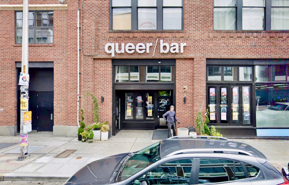 "A photo of the bar ""queer/bar"" in Seattle"